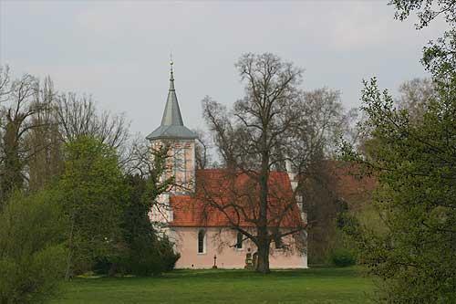 View of a local German church