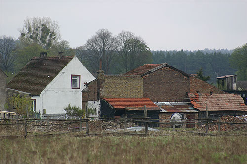 view of a typical Polish farmhouse